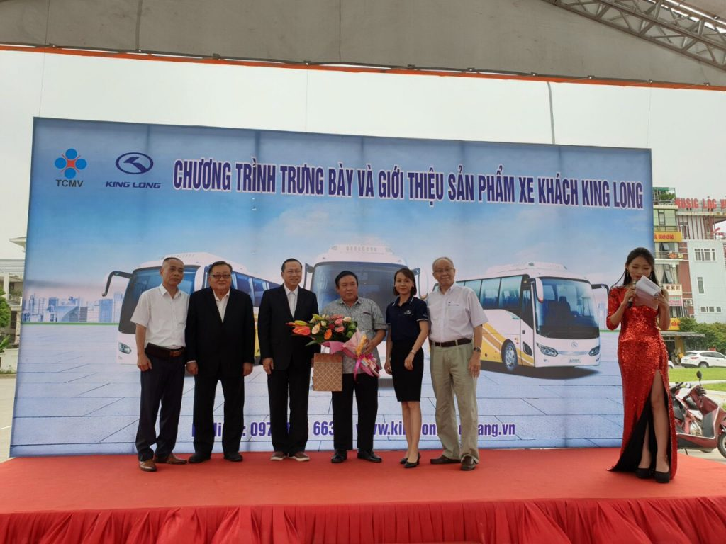 TCMV KING LONG BAC GIANG official introduce All-New King Long Bus
